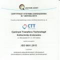 Certificat PN-EN 9001:2009