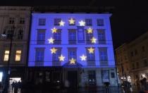 """Dzien Europy 2019 – """"Podróży po zakątkach Europy"""" 3D Mapping"""