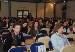 """V konferencja z cyklu Kobiety w Nauce i Biznesie """"Sukces na wysokim obcasie"""""""