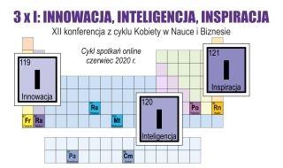 Relacja z konferencji 3xI – innowacja, inteligencja, inspiracje. XII konferencja z cyklu Kobiety w nauce i biznesie.