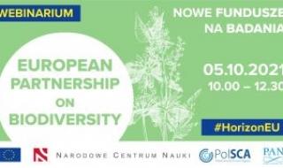 Europejskie Partnerstwo na rzecz Bioróżnorodności. Nowe fundusze na badania naukowe - webinar