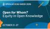 Międzynarodowy Tydzień Otwartej Nauki (TON'2019) 21-27 października 2019r.