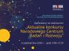 """Webinarium """"Aktualne konkursy Narodowego Centrum Badań i Rozwoju"""""""
