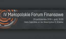 IV Małopolskie Forum Finansowe
