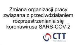 Ograniczenie spotkań w siedzibie CTT PK