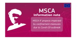Jak realizować projekty MSCA IF w trakcie COVID-19